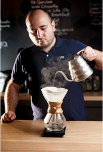 Mihai Panfil, Barista profesionist, Origo Coffee Shop