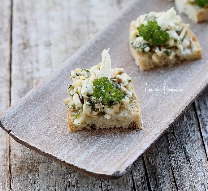 Salată dietetică de ciuperci Laura Adamache