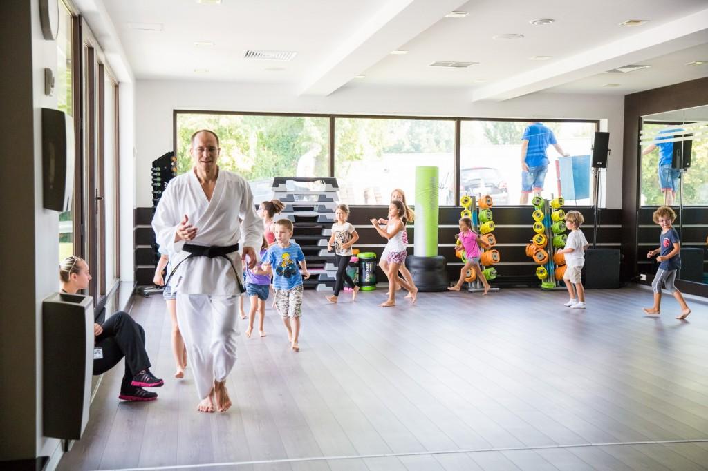 Karate pentru copii la Summer Camp