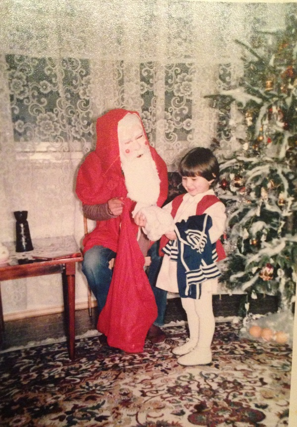 Atunci sau acum, Crăciunul e bucurie pură