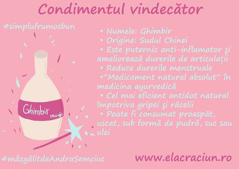 Ghimbirul, condimentul vindecator