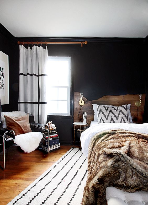 dark-paint-bedroom