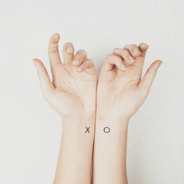 Tatuaje fete - Minimalist
