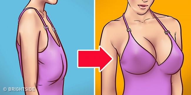 pierde greutatea nu de la sânii