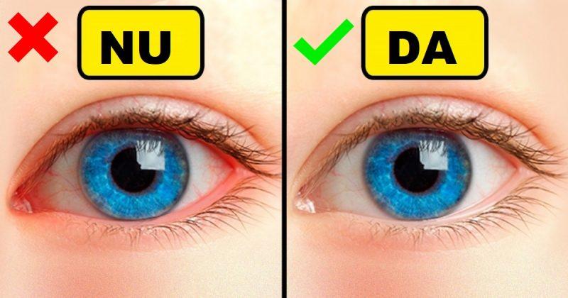 cum să nu-ți strici vederea)