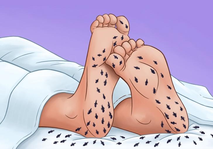 semne de picioare severe neliniștite